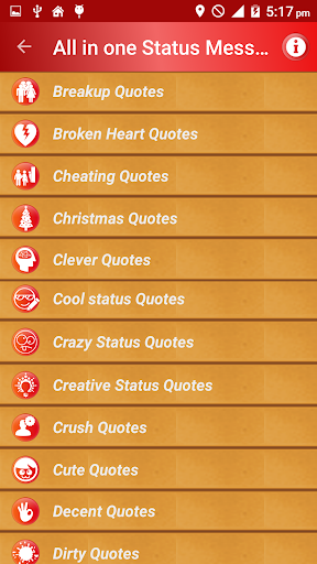 All Status Messages & Quotes 屏幕截图 2