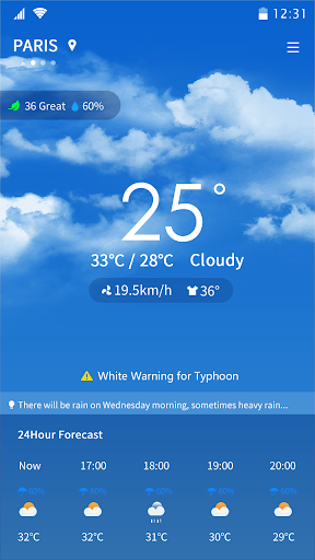 Weather - Accurate Weather Forecast screenshot 2