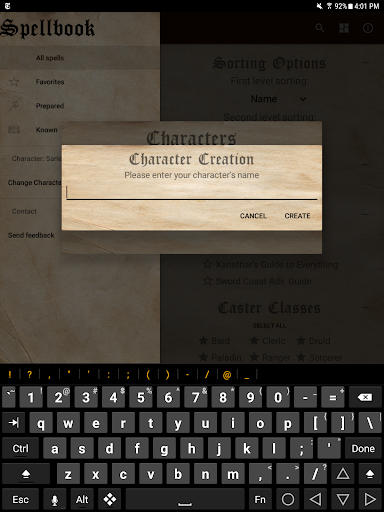D&D Spellbook 5e screenshot 16