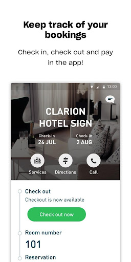 Nordic Choice Hotels screenshot 1