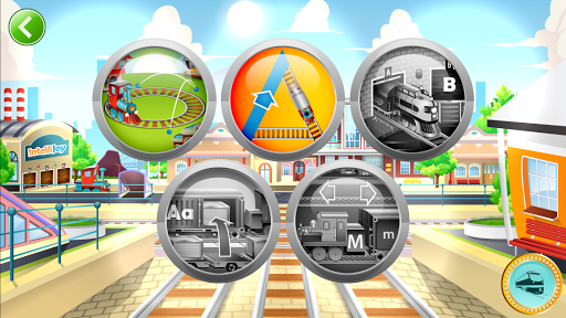 Learn Letter Names and Sounds with ABC Trains screenshot 13