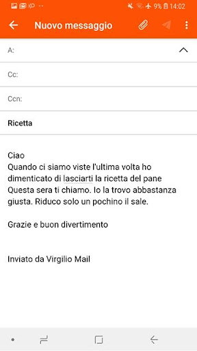 Virgilio Mail screenshot 7