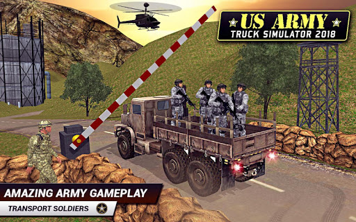 US Army Truck Driving 2021 screenshot 1