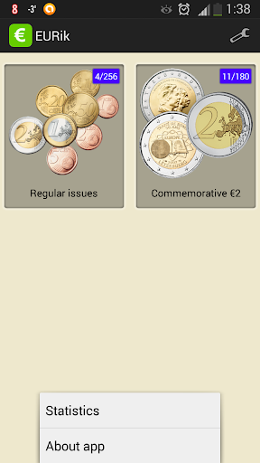 EURik: Euro coins screenshot 1
