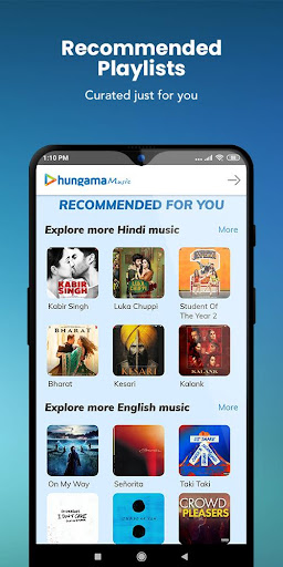 Hungama Music screenshot 2