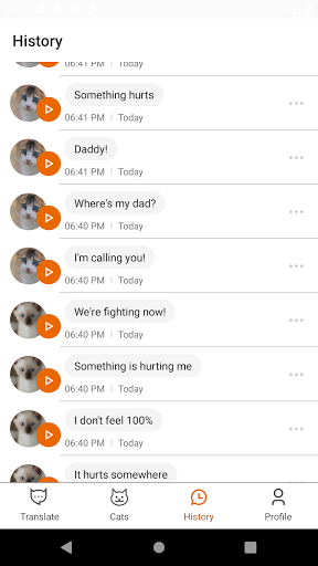 MeowTalk Beta screenshot 5