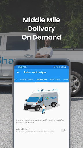 GoShare - Delivery, Moving and Hauling On Demand screenshot 3