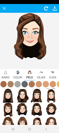 Avatarly: crear avatar emoji para Wastickerapps screenshot 2