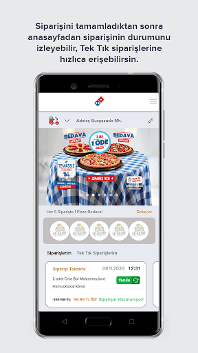 Domino's Pizza Türkiye screenshot 1