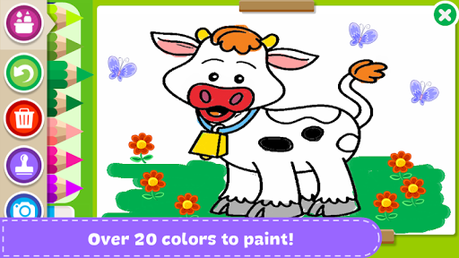 Paint and Learn Animals screenshot 2