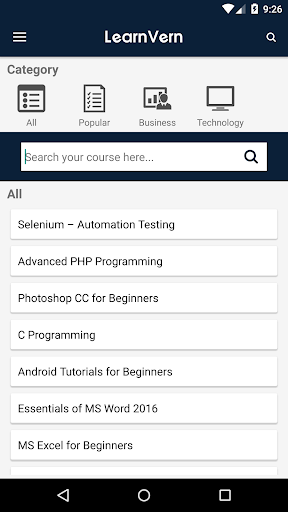 Free Online Courses & Tutorials + Certi LearnVern screenshot 1