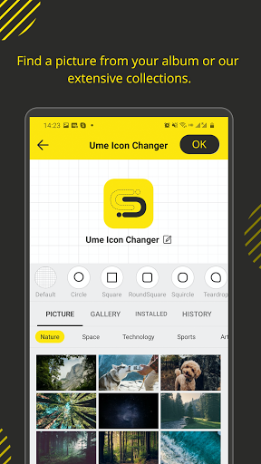 Ume Icon Changer screenshot 2