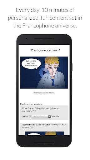 Learn French with Le Monde screenshot 2