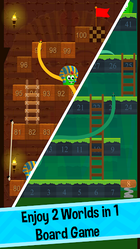 🐍 Snakes and Ladders Board Games 🎲 screenshot 2