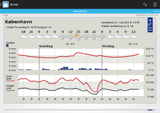 Weather in Denmark from DMI and YR - CityWeather screenshot 7