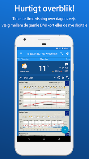 Weather in Denmark from DMI and YR - CityWeather screenshot 1