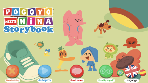 Pocoyo meets Nina screenshot 1