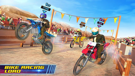 Motocross Dirt Bike Stunt Racing Offroad Bike Game screenshot 9