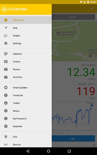 Cyclemeter GPS - Cycling, Running, Mountain Biking screenshot 17