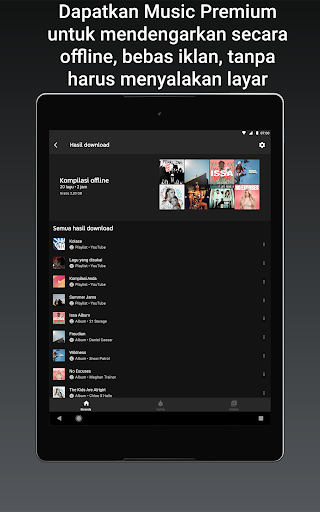 YouTube Music - Streaming Lagu & Video Musik tangkapan layar 15