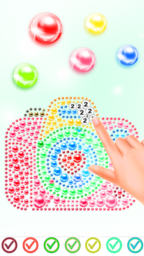 Magnetic Balls Color By Number screenshot 2