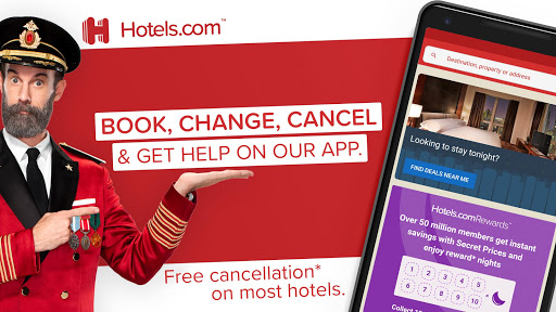 Hotels.com screenshot 1
