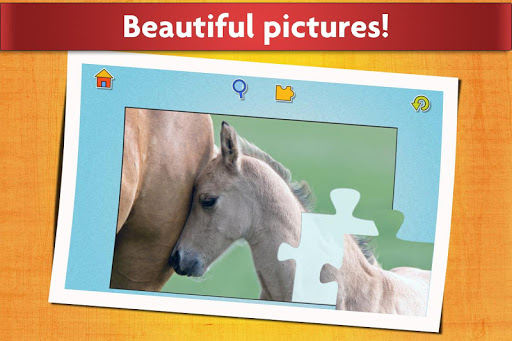 Horse Jigsaw Puzzles Game - For Kids & Adults 🐴 screenshot 5