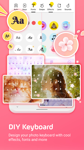 Facemoji Emoji Keyboard:Emoji Keyboard,Theme,Font screenshot 1