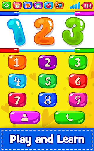 Baby Phone for toddlers screenshot 2