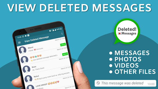 View deleted messages & photo recovery screenshot 1