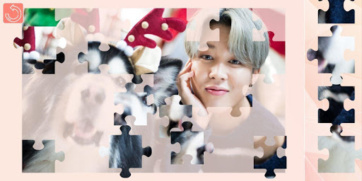 KPOP Photo puzzle screenshot 1