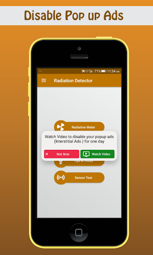 Radiation Detector, Infrared Rays Detector screenshot 5