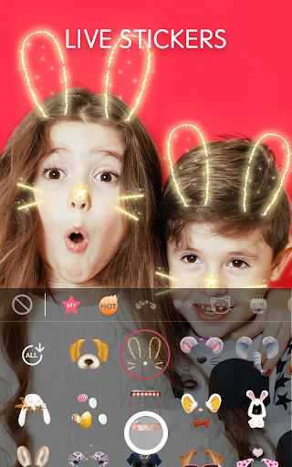 Face Camera: Photo Filters, Emojis, Live Stickers screenshot 1