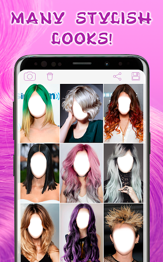 Hairstyles for your face screenshot 2
