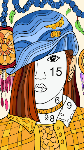 Color by number - color by number for adults screenshot 6