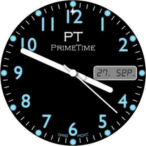 Watch Face Prime Time screenshot 1
