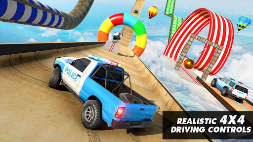 Police Prado Car Stunt Games screenshot 2