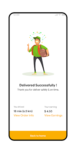 Hungerz Delivery Template screenshot 7