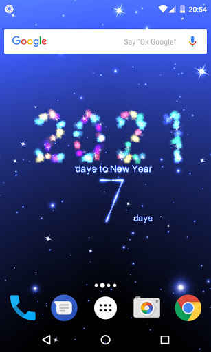 New Year countdown 2021 screenshot 1
