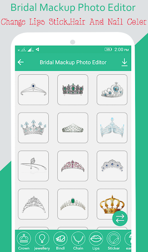Bridal Mackup Photo Editor screenshot 6