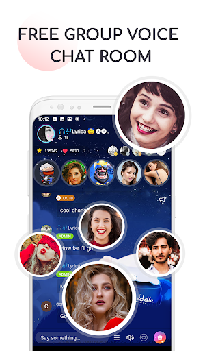 Find Friends, Meet New People, Cuddle Voice Chat screenshot 1