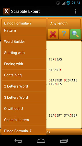 Word Expert (for SCRABBLE) screenshot 6