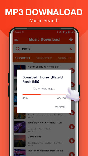 Free Music Download + Mp3 Music Downloader screenshot 2