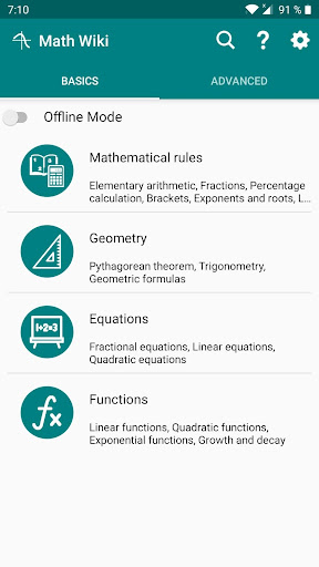Math Wiki - Learn Math screenshot 1