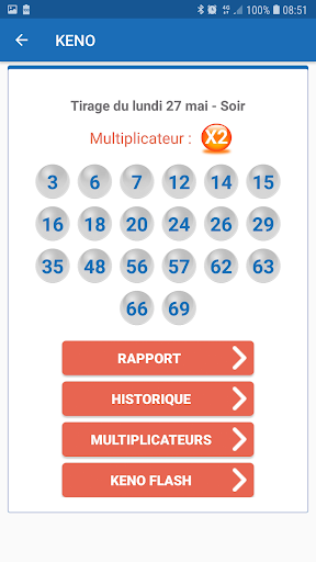 Résultat Loto France screenshot 4