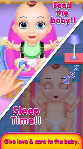 Cute Baby daycare and babysitter madness screenshot 7