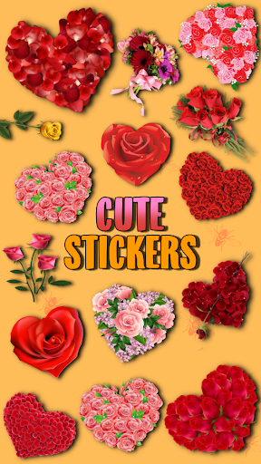 WAstickerApps Flowers and Roses Stickers screenshot 3