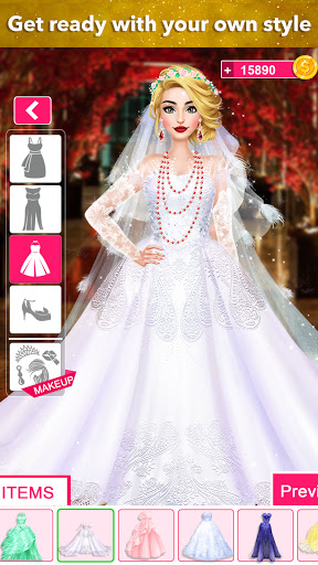 Fashion Wedding Dress Up Designer screenshot 2