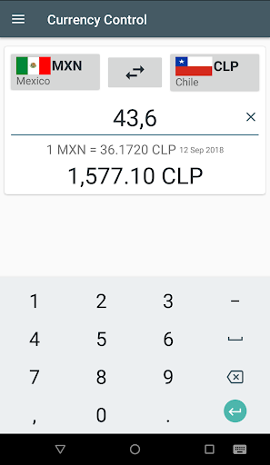 Currency Control-THE Converter screenshot 6