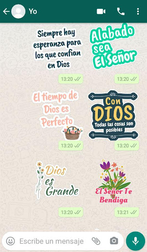 Stickers Cristianos screenshot 1